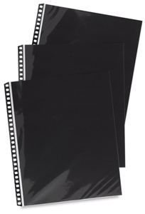 "PolyGlass Refill Pages, Pkg of 10 (Above example is Portrait, 14""H x 11""W)"