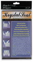 Krystal Seal Self Sealing Art, Print, and Photo Bags