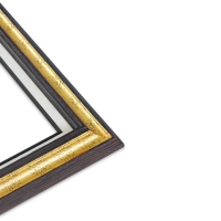 Blick Traditional Wood Frame, Corner View