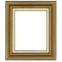 Blick Traditional Wood Frame, Light Antique Gold