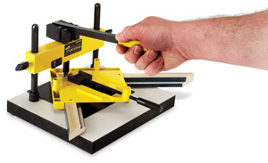 Studio Framing Joiner Shown in use with Joiner Vise (sold separately)