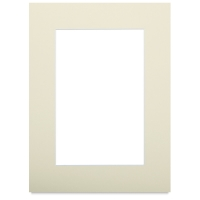 "White Core Pre-Cut Mat, Cream, 9"" x 12"""