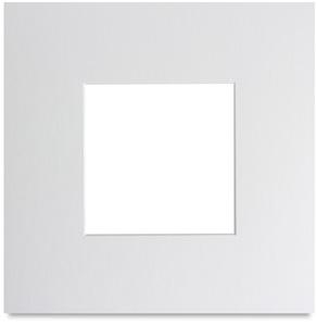 """Manor White, 8"""" x 8"""" w/4"""" x 4"""" opening"""