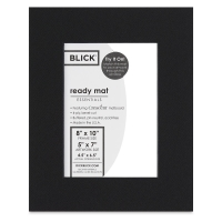 Black Core Ready Mat, Raven Black