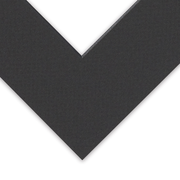 Black Core Pre-Cut Mat, Example of Core