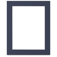 White Core Pre-Cut Mat, Newport Blue