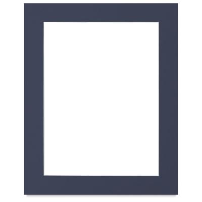 White Core Pre-Cut Mat, Newport Blue