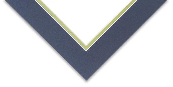 Detail, Newport Blue / Green Pear