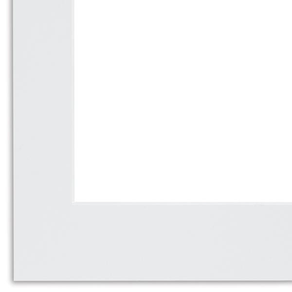 "Vivid White, 4-ply, 11"" × 14"""