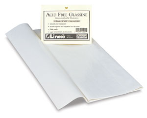 Glassine, Pkg of 12 Sheets