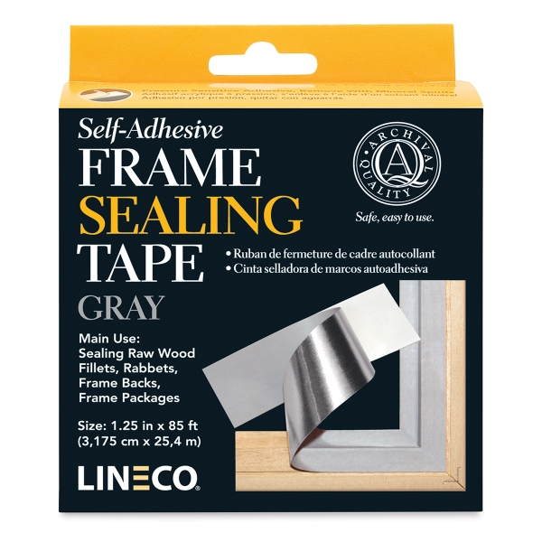 "Sealing Tape, Gray, 1-1/4"" x 85 ft"