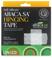 Lineco Abaca Self-Adhesive Hinging Tape