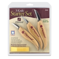 Flexcut 3-Knife Starter Set