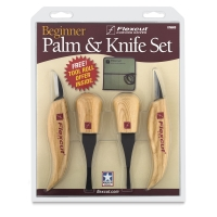 Flexcut Beginner Palm and Knife Set