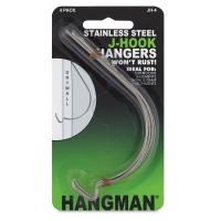 Hangman J-Hook Hanger, Pkg of 4