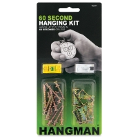 Hangman 60 Second Hanging Kit, 26 Piece Kit
