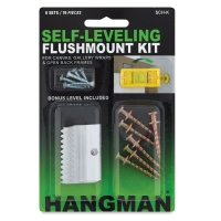 Flushmount Hanger Kit, 6-pack