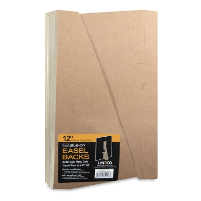 "Easel Backs, 12"", Pkg of 100"