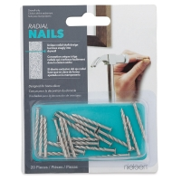 Radial Nails, Pkg of 20