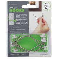 Hanger Hooks, Pkg of 6