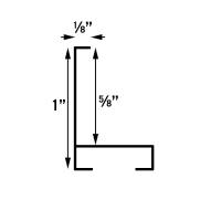 Image Metal Frame, Profile Diagram