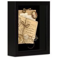 shadowbox Frame, Black