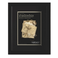 "shadowbox Frame, Black, 8"" x 10"""