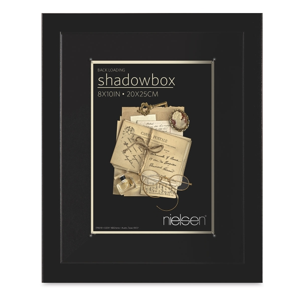 "Shadow Box Frame, Black, 8"" x 10"""