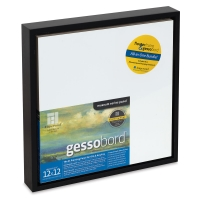 "Floater Frame and Panel Kit, Black, 12"" x 12"""