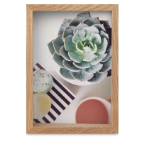 """Edge Wood Picture Frame, 5"""" x 7"""""""
