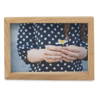 """Edge Wood Picture Frame, 4"""" x 6"""""""