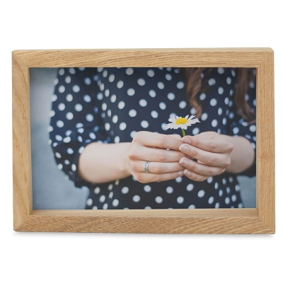 "Edge Wood Picture Frame, 4"" x 6"""