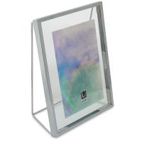 """Umbra Wedge Frame, Chrome, 5"""" × 7"""""""