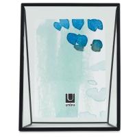 "Umbra Wedge Frame, Black, 5"" × 7"" (View from back of frame)"