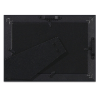 "Umbra Basic Frame, Black, 4"" x 6"" (back of frame)"