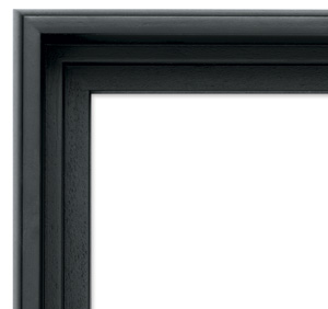 Blick Contour Floater Frame, Black