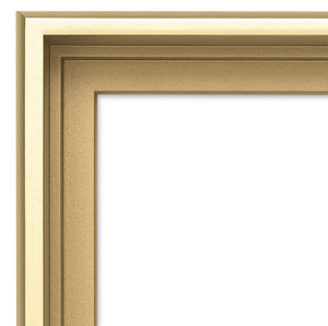 Blick Contour Floater Frame, Gold