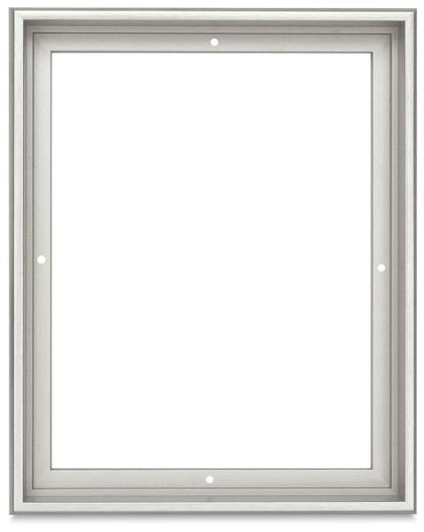 Blick Contour Floater Frame, Silver