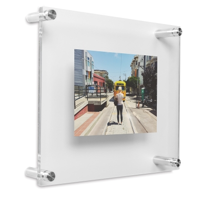 18717 1110 Wexel Art Double Panel Acrylic Display Frames Blick