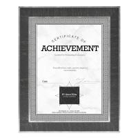 "Estonian Document Frame, Black w/Silver, 11"" x 14"""