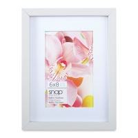 "Snap Gallery Frame, White, 6"" x 8"""