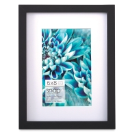 "Snap Gallery Frame, Black, 6"" x 8"""