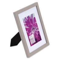 "Snap Gallery Frame, Gray, 6"" x 8"""