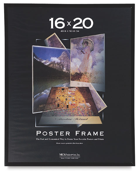 MCS Large Format Poster Frames - BLICK art materials