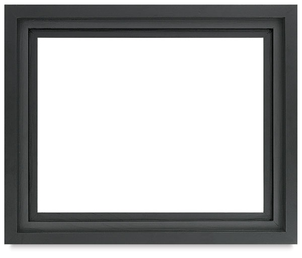"Floater Frame, Black, 1-1/2"" Depth"