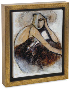 """Lost Love""<br>by Erin Ashley<br>(Gold Crackle Frame)<br>"