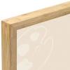 Corner Detail, Dark Bamboo Frame