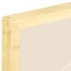 Corner Detail, Light Bamboo Frame