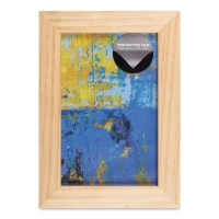 "Wood Gallery Frame, Natural, 4"" x 6"""