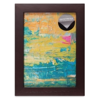 "Wood Gallery Frame, Walnut, 5"" x 7"""